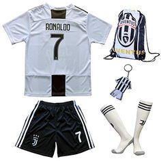 20172018 Real Madrid #7 Cristiano Ronaldo Ausweichtrikot Kinder Trikot Hose und Socken Kindergrößen (10 12 Jahre)