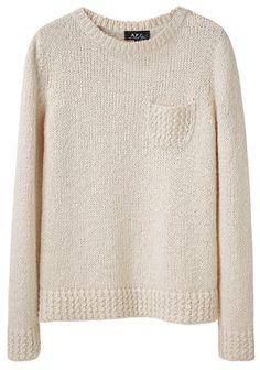 A.P.C. / Crewneck Pocket Sweater