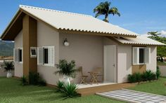 Fachadas residenciais simples