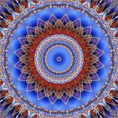 Poster Mandala Verbundenheit - © Christine Bässler - Bildnr. 489299