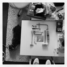 Photoshoot at the acj jewelry studio.  www.anacavalheiro.com