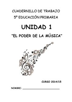 Cuadernillo de trabajo unidad 1 quinto de primaria Music Worksheets, English Fun, Music School, Primary Music, Music Classroom, Music Theory, Teaching Music, Christmas Books, Piano Music