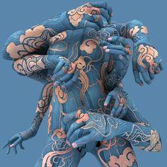KIM JOON - BODY ART