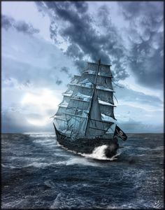 The Blackfox-Brant's ship in Heart Like an Ocean. Http://getbook.at/heartlikeanocean
