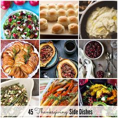 Thanksgiving Side Dish Recipes | theidearoom.net