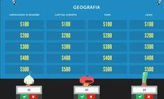 Jeopardy Rocks: strumento per creare quiz a squadre in classe