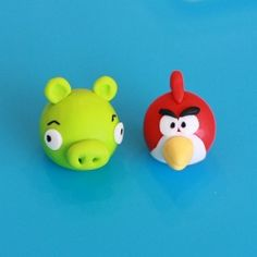 how to make fondant Angry Birds