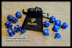I received two dice sets from #PaladinRoleplaying a few days ago. The both dice sets looking awesome and I've written an blog article today. Enjoy yourself.  #Dice #Würfel #DnD #DnD5 #DnD5e #MIDGARD5 #M5 #MIDGARD #RPG #RSP