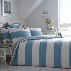 john lewis Cornish Stripe  bedding