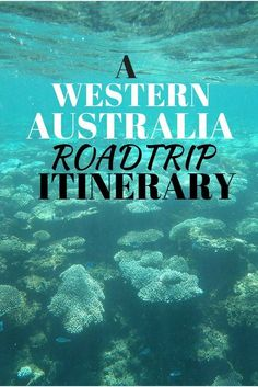 A two week itinerary of Western Australia #roadtrip #australia