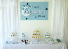 """""""Love You to the Moon & Back"""" Baby Shower"""