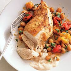 Chicken Breast With Tomatoes And Olives More
