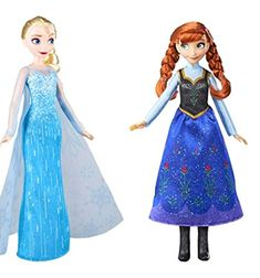 "14.5/"" Tall Iconic Film Classics Frozen 2 Anna /& Elsa Doll 2-pack"