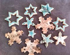 Sterne aus Keramik