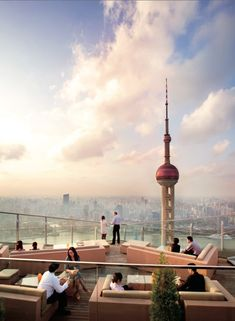 Top 5 Rooftop Bars in Shanghai   DestinAsian
