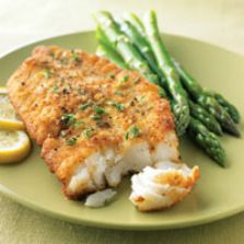 Broiled Orange Roughy with Lemon and Thyme