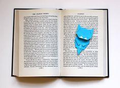 Origami cat bookmark!  What!?!