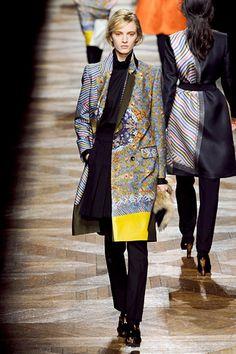 Dries Van Noten; far-east, kimono inspirations