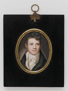 Baron von Cronstern, Jr. - Henry Gerhard Fette (American, 1842–1871) - Dimensions: 7.24 x 5.71 cm (2 7/8 x 2 1/4 in.),  Watercolor on ivory