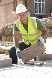 Photo about Construction Worker Laying Blockwork On Building Site. Image of domestic, contractor, vest - 12407604 Construction Services, Construction Worker, Stock Photos, Image, Building, Fashion, Colourful Birds, Moda, Fashion Styles