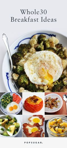 These Whole30-approved breakfast ideas are simple to put together, are incredibly nutritious, and many may easily be taken on the go.