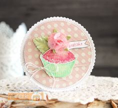 Eatcake by Laurie Schmidlin - Features the Sweet Thing stamp set, illustrated by Claire Brennan for Gina K Designs How To Make Scrapbook, Shaped Cards, Mft Stamps, Just Giving, Creative Cards, Stampin Up Cards, Birthday Cards, Give It To Me, Card Making