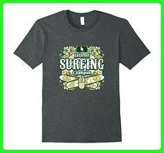 Mens Internet Surfing Champion Funny Island Graphic T-Shirt XL Dark Heather - Sports shirts (*Amazon Partner-Link)