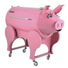 Pink barbecue xD