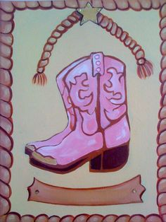 Cowgirl boots by mia4art on Etsy, $45.00
