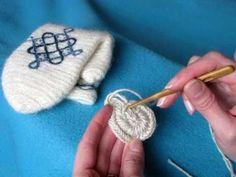 Nalbinding 8, Round start - Neulakinnas, pyöreä aloitus #medieval #reenactment #crafts #naalbinding #crafts #DIY #howto