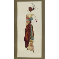 Fashion design - Zobel; Été 1912