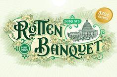 Rotten Banquet #victorian #vintage #modern