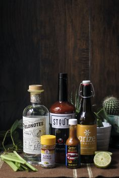 How about taking your favorite probiotic drink and mixing that with your favorite brunch cocktail? Gherkin Pickle, Fresh Horseradish, Probiotic Drinks, Bloody Mary Recipes, Lemon Pepper, Kombucha, Spice Things Up, Vodka, How To Find Out