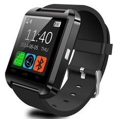 Alike U8 Bluetooth Smartwatch Wristwatch Touch Screen for IOS Android Smartphone black *** Find out more about the great product at the image link. Note: It's an affiliate link to Amazon #watchesforme