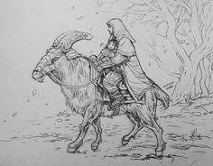 Thorin and Kili by evankart on tumblr