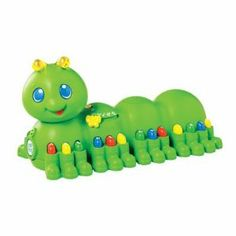 Leapfrog Alphabet Pal - Green by LeapFrog. $11.00. Pull the string to hear the Alphabet Song. Press any of his brightly-colored legs to hear letter names, sounds, colors or tunes. Features volume control. Parents can connect to the online LeapFrog Learning Path for customized learning ideas and insights from LeapFrog. Silly giggle, flashing antennae and comical walk will tickle your child's funny bone. From the Manufacturer                Alphabet Pal has a sill...