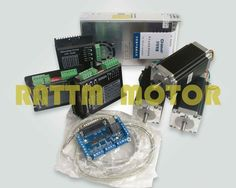 224.00$  Watch here - http://alibed.worldwells.pw/go.php?t=2012635588 - 3 Axis Cnc controller Kit Nema23 425 Oz-in StepperMotor + 256 Microstep DriverCNC engraving machine 224.00$