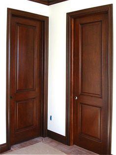 House Main Door Design, Single Door Design, Wooden Front Door Design, Door And Window Design, Room Door Design, Wooden Front Doors, Contemporary Interior Doors, Interior Door Styles, Black Interior Doors