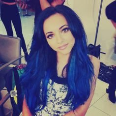 blue hair!im gunna die this is so ugh lkhnlsakm