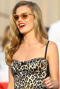 Georgia May Jagger: Get your inner feline with cat eye sunglasses
