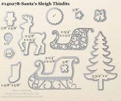 Image result for Holly Jolly Santa thinlit