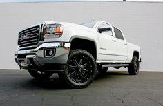 Wheels and Tires Truck Rims, F150 Truck, Ford Trucks, 2015 Chevy 2500, Gmc 2500, Wheels For Sale, Wheels And Tires, Chevrolet Silverado, Ford Ranger Wheels