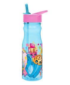 b33b83ef17 Look at this Shopkins™ 25-Oz. Straw Water Bottle on #zulily today