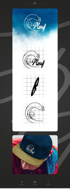 Create logo for surfing label Summer Logo, Create A Logo, Logos, Surfing, Behance, Graphic Design, Designers, Cards, Logo