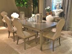 Luxury is in each detail . #LaMaisonInteriorDesign #Chaddock #Luxury #Dining #Detail