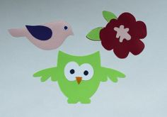 Woodland Owl Theme Appliques for Children Happy by HappyPatches, $12.00