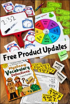Visit this page to learn about free updates on Laura Candler's Teaching Resources!
