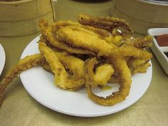 calamari!! YUCK!