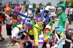 The cosplay of Comiket Sailor Moon, Splatoon, Love Live! and more【Photos】 Splatoon Costume, Splatoon Cosplay, Family Cosplay, Holidays And Events, More Photos, Movies And Tv Shows, Sailor Moon, Movie Tv, Fandom