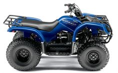 Yamaha Grizzly 125 Quad in blue profile wallpaper